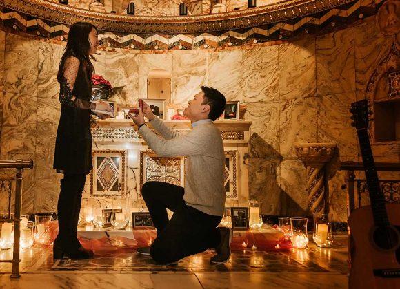 Fitzrovia Chapel - Marriage proposal