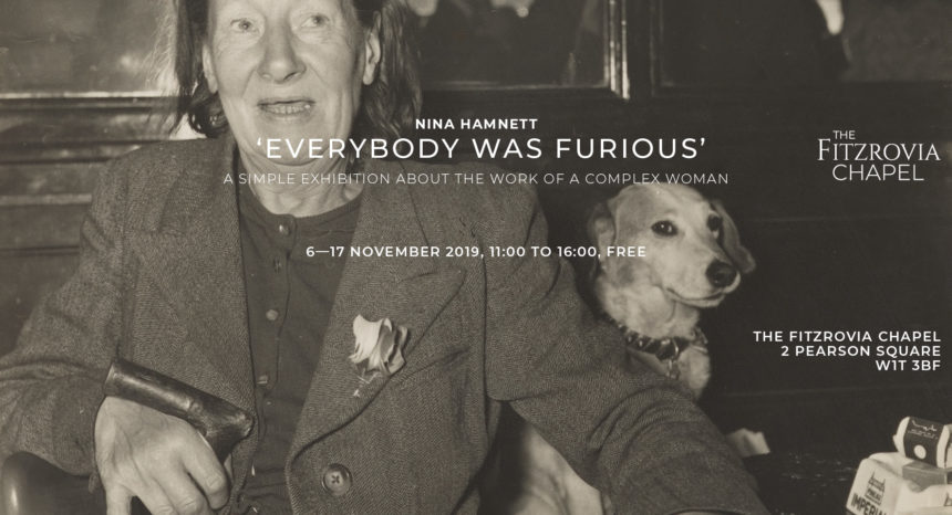 Nina Hamnett – a Simple Exhibition Celebrating a Complex Woman of Fitzrovia