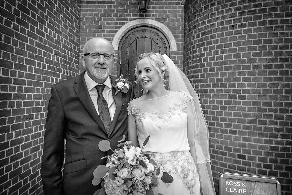 Fitzrovia Chapel - Claire & Ross Wedding